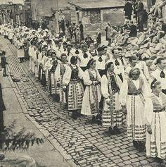 Bistritzer Trachten in Rothenburg ob der Tauber