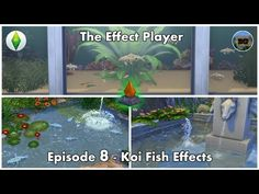 (3) The Sims 4 Effect Player - Episode 8 - Koi Fish Effects - YouTube