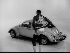 Wilt Chamberlain VW Commercial