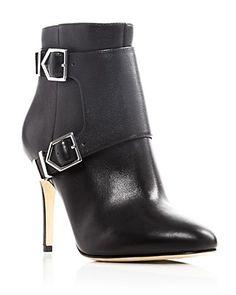 Via Spiga Vali Harness High Heel Booties - 100% Bloomingdale's Exclusive | Bloomingdale's