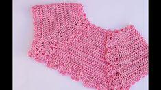 Very cute and simple crochet bolero crochet Crochet Girls, Cute Crochet, Crochet For Kids, Crochet Hooks, Crochet Baby, Simple Crochet, Baby Bolero, Crochet Bolero Pattern, Crochet Shrugs