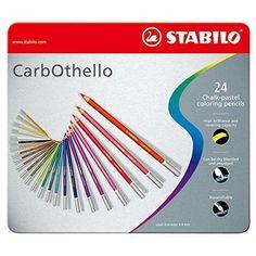 Stabilo Carb-Othello Pastel Pencil Sets set of 24