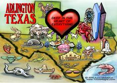 Arlington, Texas.....Deep in the heart of everything.