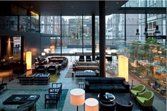 the Conservatorium Hotel designed by Italian Piero Lissoni