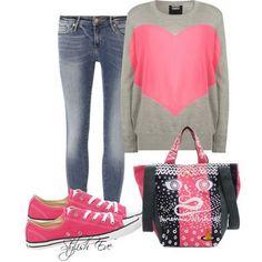 outfits pink converse - Buscar con Google