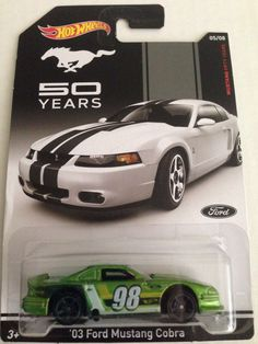 '03 Ford Mustang Cobra - Hot Wheels 2014 - Mustang 50 Years - 5/8