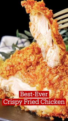 Fried Chicken Recipes, Chicken Fried Chicken, Frango Chicken, Tastemade Recipes, Food Cravings, Yummy Food, Tasty, Food Videos, The Best