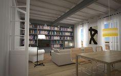 Inmofinders pisos en venta en Eixample Barcelona Barcelona Apartment, Apartments, Bookcase, Shelves, Spaces, Home Decor, Flats, Shelving, Shelving Racks