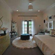 Cute teenage bedroom idea