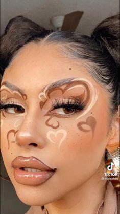 Edgy Makeup, Makeup Eye Looks, Eye Makeup Art, Crazy Makeup, Cute Makeup, Pretty Makeup, Makeup Inspo, Makeup Inspiration, Beauty Makeup