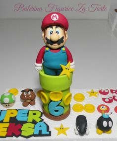 https://flic.kr/p/NC6eEg | Super Mario figurice za torte | Super Mario figurice za torte