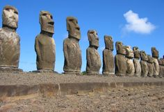 Statues of Easter Island: Easter Island, Chile - World of New7Wonders