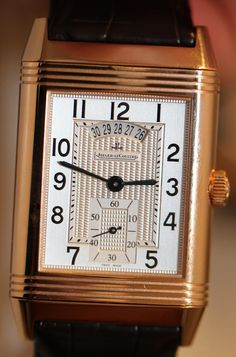 Jaeger-LeCoultre Reverso Duoface watch