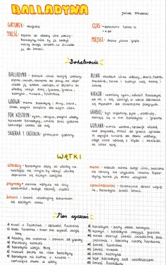 Polish Language, School Study Tips, School Motivation, School Notes, Study Notes, Back To School, Bullet Journal, How To Plan, Education