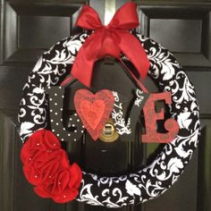 Our Valentines wreath