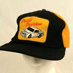 David Pearson 16 Car Carolina Tool Yellow Trucker Hat Baseball Cap Mesh Snapback #Unbranded #TruckerHat