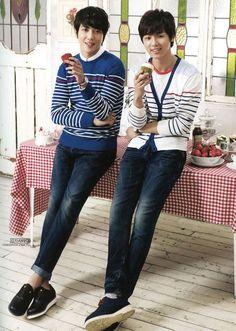 Jung Yong Hwa & Kang Min Hyuk @ BANGBANG (cr po_tato)
