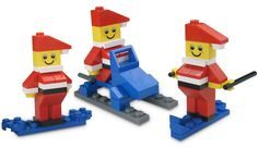 A few days ago we saw the Mini Lego Christmas Tree, a budget Lego set that would make a great stocking stuffer. Today we have another, the LEGO Mini Santa Set. Lego Christmas Tree, Christmas Minis, Christmas Projects, Christmas Time, Lego Cake Topper, Cake Toppers, Lego Advent Calendar, Advent Calander, Lego Ornaments