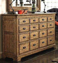 LOVE apothecary dressers!
