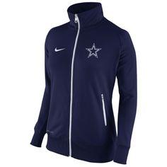 Dallas Cowboys Nike Women's MVP Track Jacket – Navy Blue
