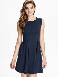 Ivalo Dress - Minimum - Twilight Blue - Festkjoler - Klær - Kvinne - Nelly.com