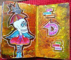 jehkotar: Art Journal: Dylusions