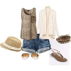 Really love the animal print with this!