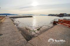 Beach du Mourillon, Toulon, France #concretebeach #beach #stairs #oceanview #pier #evening #seashore #seaside #saltbreeze