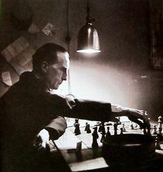 Marcel Duchamp 210 West 14th Street NYC 1952 Photo: Kay Bell Reynal