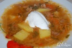 Ciorba ruseasca de varza murata Soup Recipes, Recipies, Cooking Recipes, Romanian Food, I Foods, Beef, Soups, Pork, Recipes
