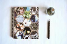Pie N' the Sky: M A K E :: hexagon notebook