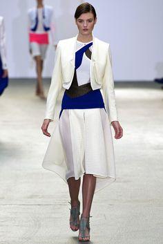 Antonio Berardi Spring 2013 Ready-to-Wear Fashion Show - Montana Cox