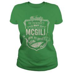 MCGILL - t-shirt, hoodies, hoody, tank top, long sleeves, v-neck. Tshirt For You