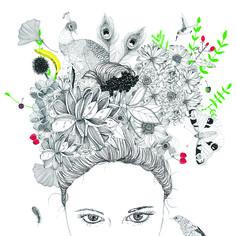 Autoportrait,illustration pour#BORNMagazine #kids #parents #fashion #lifestyle #moda #niños #modernparents #illustration #Sophietruant #BORNissue #Barcelona #revista #magazine Ants, Zentangle, Rooster, Magazine, Lifestyle, Animals, Self Portraits, Pony, Drawing Drawing