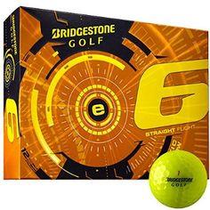 Bridgestone 2015 E6 White Golf Balls 12-Ball Pack
