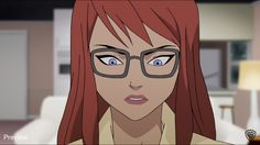 "Barbara Gordon in that fateful moment in the animated adaptation of the ""Killing Joke"""