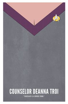 Star Trek TNG: Counselor Deanna Troi by Marek Maurizio Star Trek Tv, Star Trek Ships, Star Wars, Star Trek Generations, Deanna Troi, United Federation Of Planets, Starship Enterprise, Star Trek Universe, Across The Universe