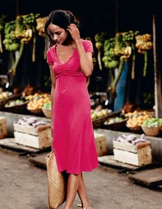 Jersey tea dress - Boden
