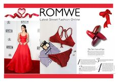 """""""Competition Romwe set"""" by wind-right ❤ liked on Polyvore featuring romwe"""