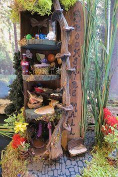 Fairy House Brookshire Mall by WoodlandFairyVillage, $54.99