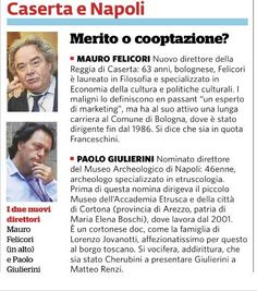 Non solo gli stranieri, anche su alcuni Direttori made in Italy, qualche dubbio c'é. Vero Franceschini?