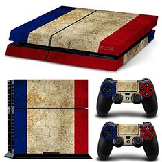 GOOOD PS4 Designer Skin Decal for PlayStation 4 Console System and PS4 Wireless Dualshock Controller - Old French Flag GOOOD http://www.amazon.com/dp/B016IAN390/ref=cm_sw_r_pi_dp_jG1rwb1N2DBQA