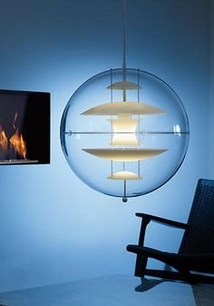 globe lamp by Verner Panton (1969)