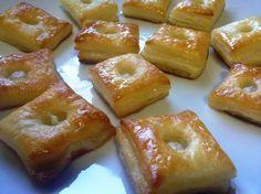 Varomeando: Hojaldres con miel