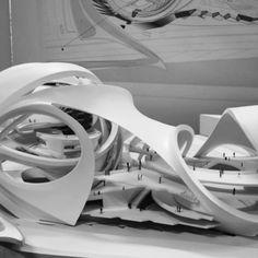 Larissa Kondinas #robotic #circus #StudioLYNN #dieAngewandte #vienna #archmodel…