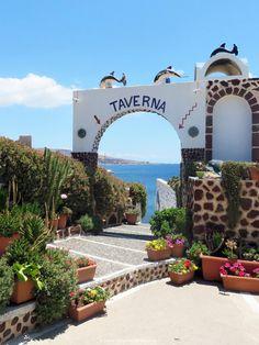 Cyclades - Santorin - restaurant