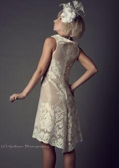 Lace Sheath Dress Made to Order by Kimmi on Etsy, $250.00