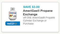 AmeriGas Propane Cylinder Exchange Coupon Off $3.00