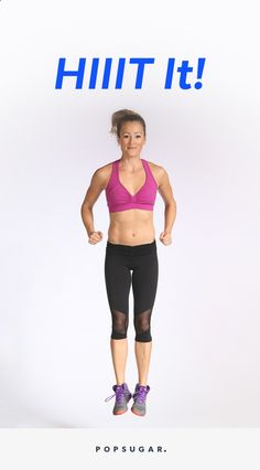 This 20-minute HIIT workout will work your entire body. Mixing all kinds of burpees with classic strength training moves, trainer Astrid McGuire keeps the pace high for the entire video.