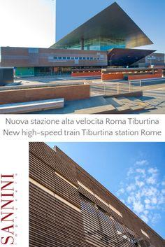 STAZIONE ALTA VELOCITÀ - ROMA TIBURTINA Per la nuova Stazione dell'Alta Velocità Roma Tiburtina lo Studio ABDR ha progettato un nuovo elemento in cotto con sezione ad elle...... For the new high-speed train station Tiburtina Studio ABDR has designed a new element with brick L-shaped section...... http://www.sannini.it/news-single-004.html